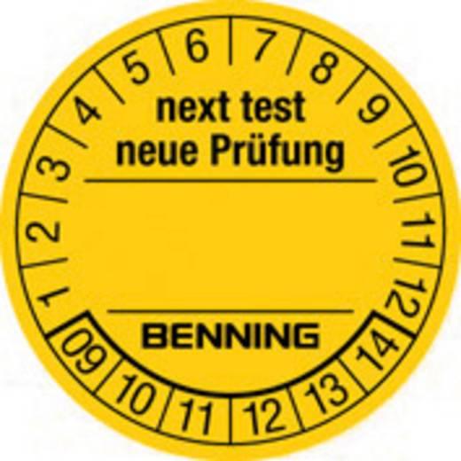 Prüfplaketten 300 St. für Benning Gerätetester 756212 (Ø) 30 mm Nächste Prüfung