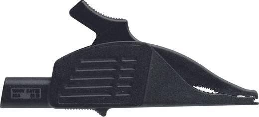 Sicherheits-Messleitungs-Set [ Lamellenstecker 4 mm - Lamellenstecker 4 mm] 1 m Rot, Schwarz Benning BENNING TA 3