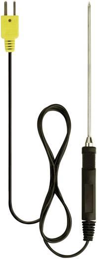 Einstechfühler Benning 044121 -196 bis 800 °C Fühler-Typ K Kalibriert nach Werksstandard (ohne Zertifikat)