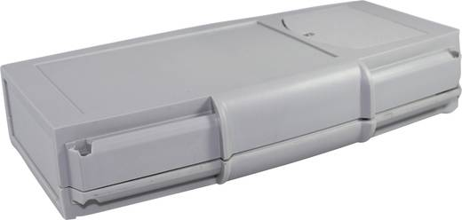 Hand-Gehäuse 185 x 110 x 25 ABS Licht-Grau Axxatronic CHH664BGY 1 St.