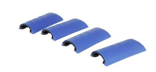Gehäuseecken Kunststoff Blau Axxatronic CHH66C2BL 4 St.