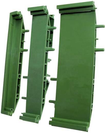 Platinenhalter Endteil erweiterbar, mit Standfuß (L x B) 22.50 mm x 72 mm Axxatronic CIME/M/SEF2250 1 St.