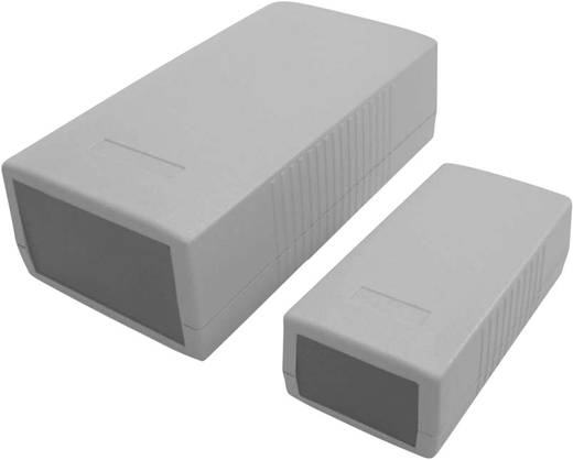 Axxatronic 3400-25-UL Universal-Gehäuse 190 x 100 x 80 ABS Licht-Grau 1 St.