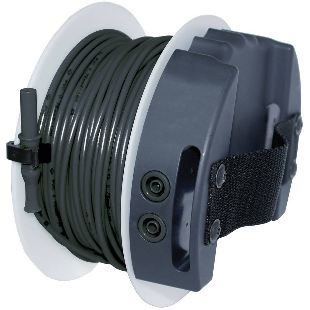 Sicherheits-Messleitung [Lamellenstecker 4 mm - Buchse 4 mm] 40 m ...