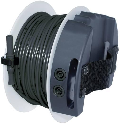 Sicherheits-Messleitung [Lamellenstecker 4 mm - Buchse 4 mm] 40 m Schwarz Benning TA 5