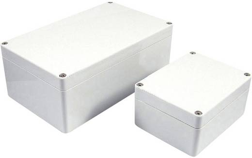 Installations-Gehäuse 360 x 200 x 150 Polycarbonat Grau Axxatronic 7200-2058 1 St.