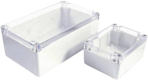 Axxatronic 7200-279C Installations-Gehäuse 120 x 120 x 90 Polycarbonat Weiß, Klar 1 St.