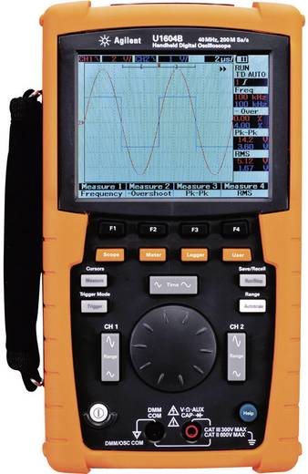 Hand-Oszilloskop (Scope-Meter) Keysight Technologies U1604B-001 40 MHz 2-Kanal 100 MSa/s 125 kpts 8 Bit Digital-Speiche