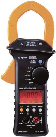 Keysight Technologies U1212A Stromzange, Hand-Multimeter digital Kalibriert nach: ISO CAT III 1000 V, CAT IV 600 V Anze