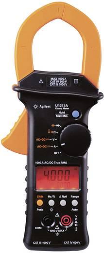 Stromzange, Hand-Multimeter digital Keysight Technologies U1213A Kalibriert nach: ISO CAT III 1000 V, CAT IV 600 V Anze