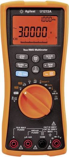 Keysight Technologies U1272A Hand-Multimeter digital Kalibriert nach: ISO Datenlogger CAT III 1000 V, CAT IV 600 V Anzei