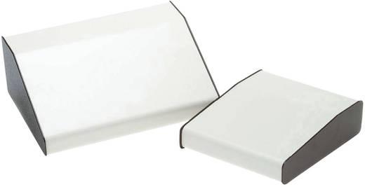 Pult-Gehäuse 210 x 381 x 106 Aluminium Weiß, Braun Axxatronic RTM2703-BR/B 1 St.