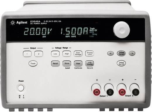 Keysight Technologies E3646A Labornetzgerät, einstellbar 0 - 8 V/DC 0 - 3 A 60 W Anzahl Ausgänge 2 x Kalibriert nach I