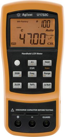 Komponententester digital Keysight Technologies U1732C Kalibriert nach: ISO CAT I Anzeige (Counts): 20000
