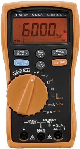 Hand-Multimeter digital Keysight Technologies U1232A Kalibriert nach: DAkkS CAT III 600 V Anzeige (Counts): 6000