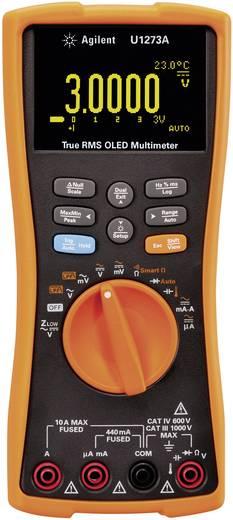 Hand-Multimeter digital Keysight Technologies U1273A Kalibriert nach: ISO Datenlogger, OLED-Display CAT III 1000 V, CAT