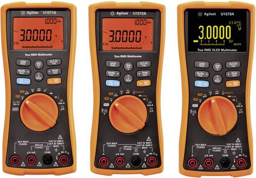 Keysight Technologies U1273A Hand-Multimeter digital Kalibriert nach: DAkkS Datenlogger, OLED-Display CAT III 1000 V, CA