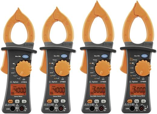 Keysight Technologies U1194A Stromzange, Hand-Multimeter digital Kalibriert nach: ISO CAT III 600 V, CAT IV 300 V Anzei