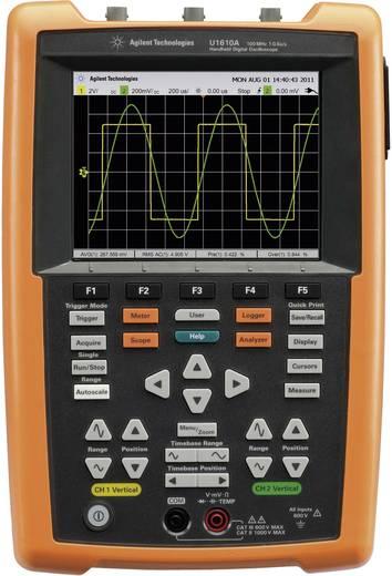 Hand-Oszilloskop (Scope-Meter) Keysight Technologies U1610A 100 MHz 2-Kanal 500 MSa/s 60 kpts 8 Bit Kalibriert nach DAkk