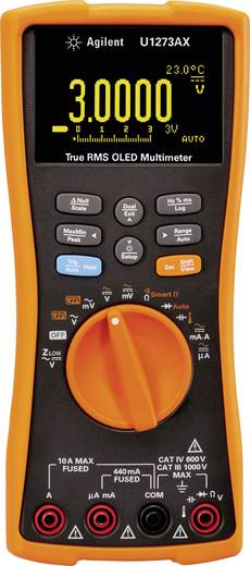Keysight Technologies U1273AX Hand-Multimeter digital Kalibriert nach: Werksstandard (ohne Zertifikat) Datenlogger, OLED