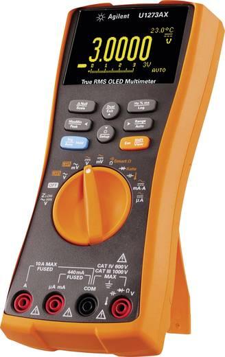 Hand-Multimeter digital Keysight Technologies U1273AX Kalibriert nach: ISO Datenlogger, OLED-Display CAT III 1000 V, CAT