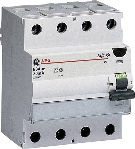 General Electric 604210 FI-Schutzschalter 4polig 63 A 0.03 A 400 V