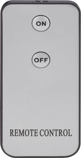 Nebelmaschine Renkforce DB-L6F inkl. Kabelfernbedienung, inkl. Funkfernbedienung, mit Lichteffekt
