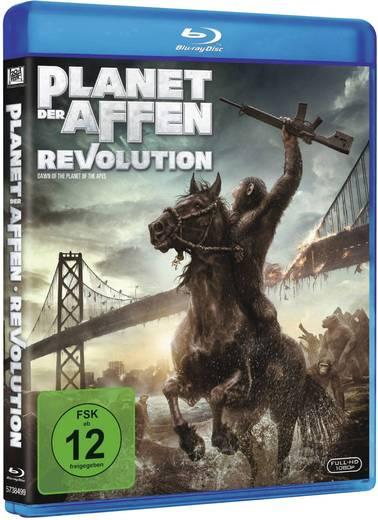 blu-ray Planet der Affen - Revolution FSK: 12
