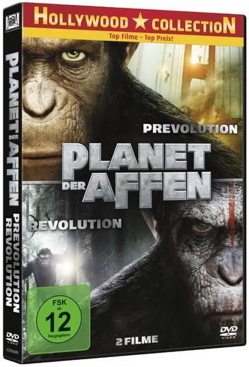 DVD Planet der Affen: Prevolution & Revolution FSK: 12