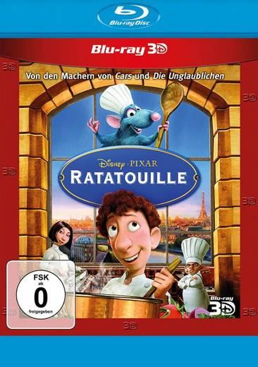 blu-ray 3D Ratatouille FSK: 0