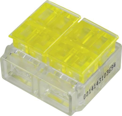 Einzeladerverbinder flexibel: 1.5-2.5 mm² starr: 1.5-2.5 mm² Polzahl: 4 1282786 1 St. Gelb