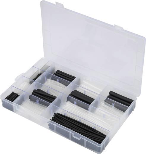 Schrumpfschlauchset 1000 Teile Schwarz, Transparent