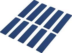 Reflexní lepicí pásky RTS25/100-BL, 100 mm x 25 mm, modrá, 10 ks