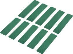 Reflexní lepicí pásky RTS25/100-GN, 100 mm x 25 mm, zelená, 10 ks