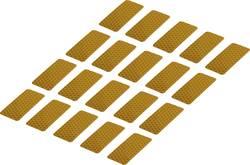Reflexní lepicí pásky RTS25/50-YL, 50 mm x 25 mm, 20 ks, žlutá