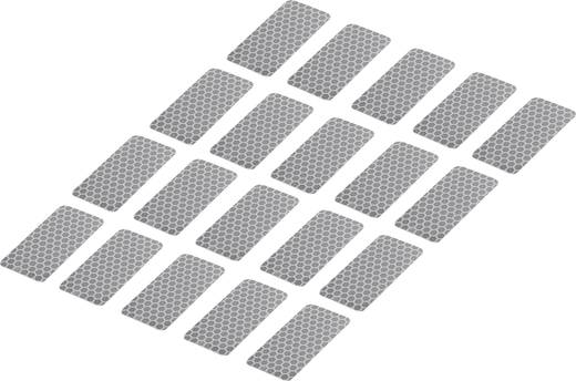 Klebestreifen Conrad Components RTS Silber (L x B) 50 mm x 25 mm Inhalt: 20 St.