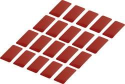 Reflexní lepicí pásky RTS25/50-RD, 50 mm x 25 mm, 20 ks, červená