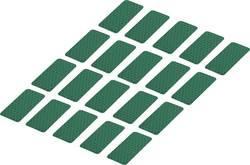 Reflexní lepicí pásky RTS25/50-GN, 50 mm x 25 mm, 20 ks, zelená