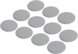 Reflexní lepicí kolečka RTS40-SV, Ø 40, 11 ks, stříbrná
