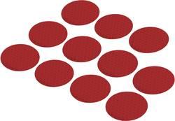 Reflexní lepicí kolečka RTS40-RD, Ø 40, 11 ks, červená