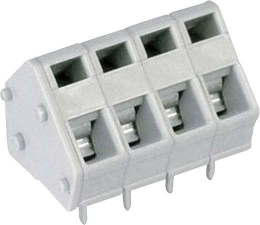 DECA MPX110-50011 Federkraftklemmblock 4.00 mm² Polzahl 11 Grau 1 St.