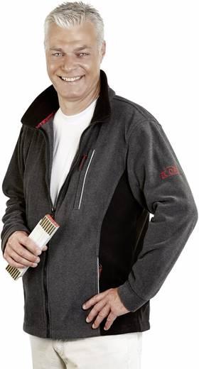 ELDEE 2507 Faserpelz-Jacke Pamir Größe=M Grau, Schwarz