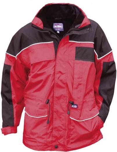 ELDEE 4181 Multifunktionelle Wetterjacke Montreal Größe=XL Rot, Schwarz