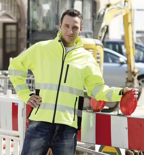 ELDEE 4281 Softshell-Warnschutzjacke Merapi Größe: XL Neon-Gelb
