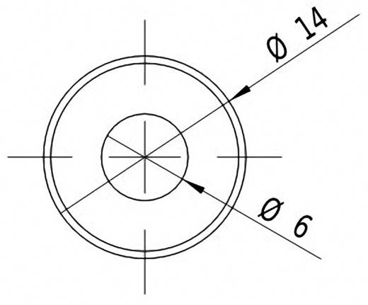 Lasermodul Linie Rot 5 mW Picotronic LC650-5-3-F(14x45)
