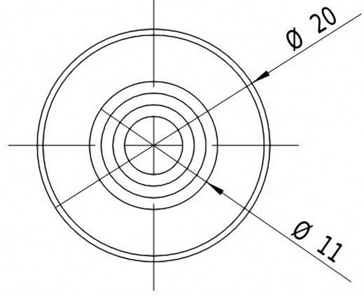 Lasermodul Punkt Grün 1 mW Picotronic DD532-1-3(20x80)