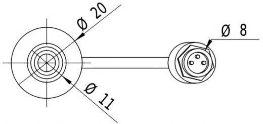 Lasermodul Linie Grün 10 mW Picotronic LD532-10-24(20x80)-C500
