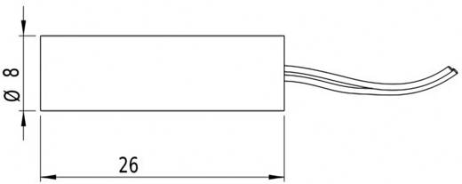 Lasermodul Linie Rot 2.5 mW Picotronic LI635-2.5-3(8x26)