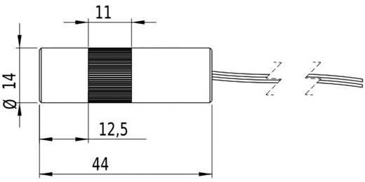 Lasermodul Linie Rot 5 mW Picotronic LC635-5-3-F(14x45)