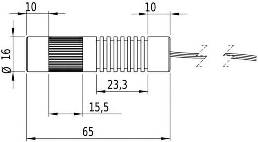 Lasermodul Linie Grün 5 mW Picotronic LC532-5-3-F(16x65)